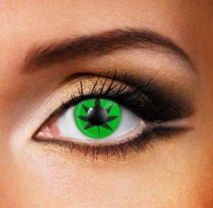 Cannabis leaf (green) Eye Accessories (Pair)
