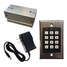 Key Pad and Magnetic Lock Starter Kit
