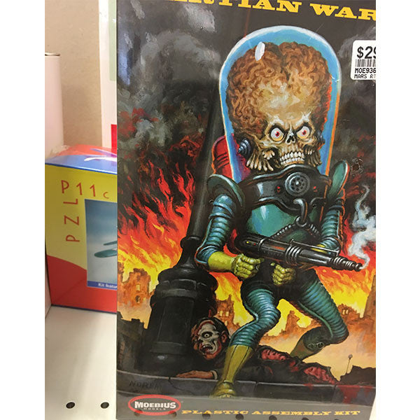Martian Mars Attacks