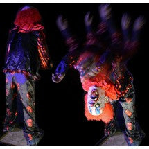 Twisted Back Bending Carnival Clown
