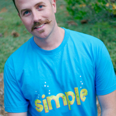 Simple Sponge Short Sleeved T-Shirt