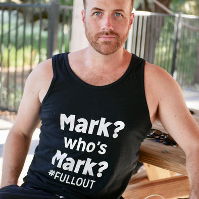 Mark? Who's Mark? Unisex Tank Top