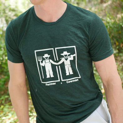 Farmer and the Cowman - Short-Sleeve Unisex T-Shirt