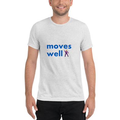 Man Moves Well - Short sleeve t-shirt