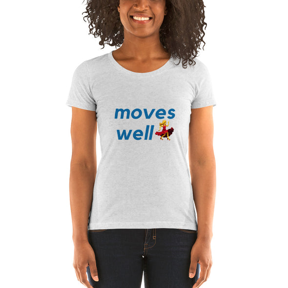 Woman Moves Well - Short sleeve t-shirt