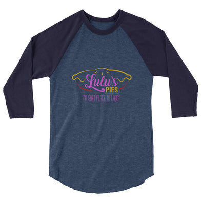 A Soft Place to Land - 3/4 sleeve raglan shirt