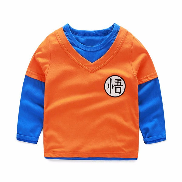 Tee-shirt enfant ML Dragon Ball Goku