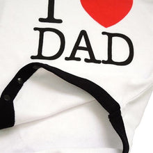 "Body ""I (heart) Dad"""