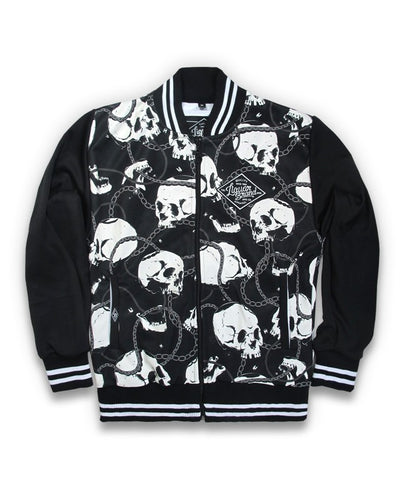 Veste Varisty Skulls & Chains