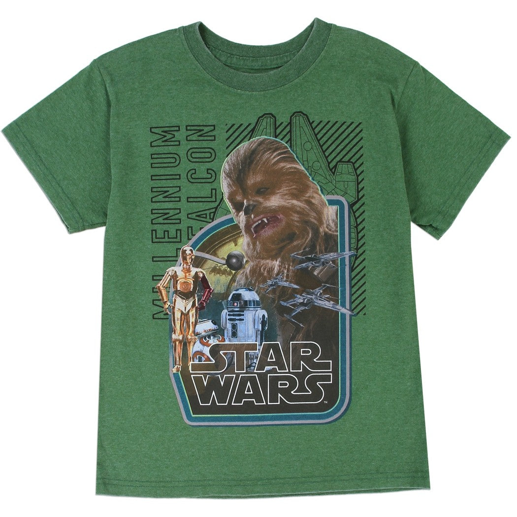 T-shirt Star Wars Retro