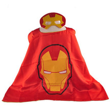 Set Marvel Iron man cape+ masque