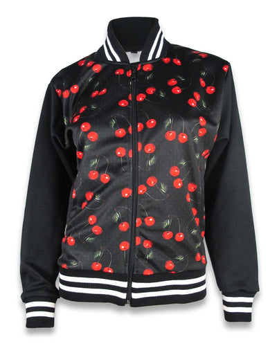 Veste Varisty Cherry Art
