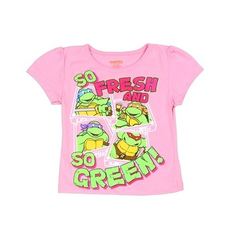 Tee-shirt fille TMNT- Tortues Ninjas