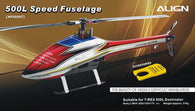 500L Dominator Speed Fuselage – Red , Blue and Yellow HF5026T-HELY-SHOP.co.uk