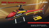 500L Dominator Speed Fuselage – Red & Yellow HF5025T-HELY-SHOP.co.uk