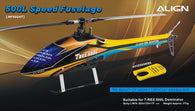 500L Dominator Speed Fuselage – Yellow & Blue HF5024T-HELY-SHOP.co.uk