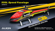 550L Speed Fuselage – Red & Yellow HF5501T-HELY-SHOP.co.uk