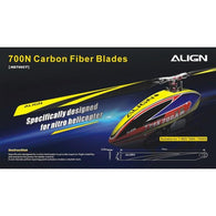 700N Carbon Fiber Blades HD700C-HELY-SHOP.co.uk