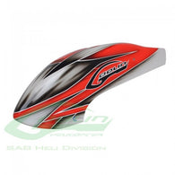 Canomod Airbrush Canopy Red/White Goblin 500 H0271-S-HELY-SHOP.co.uk