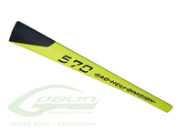 Carbon Fiber Tail Boom Yellow H0300-S-HELY-SHOP.co.uk