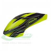 Full Size Servo Canopy Black/Yellow Goblin 500 H0351-S-HELY-SHOP.co.uk