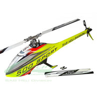 Goblin 500 Sport Yellow 2 sets of blades SG508-HELY-SHOP.co.uk