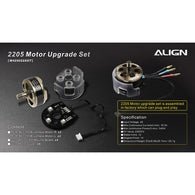 M425022XXT 2205-2300Kv MR25 / MR25P Motor Upgrade Set-HELY-SHOP.co.uk