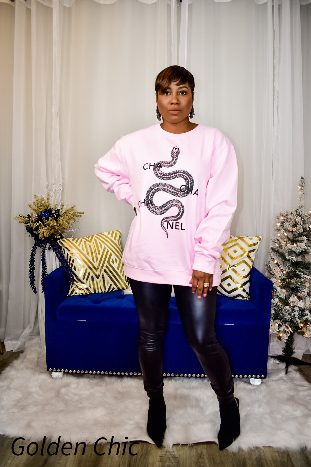 Cha-Chanel Sweatshirt