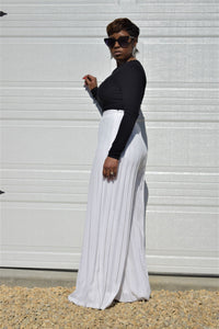Snow White Pleated Pant
