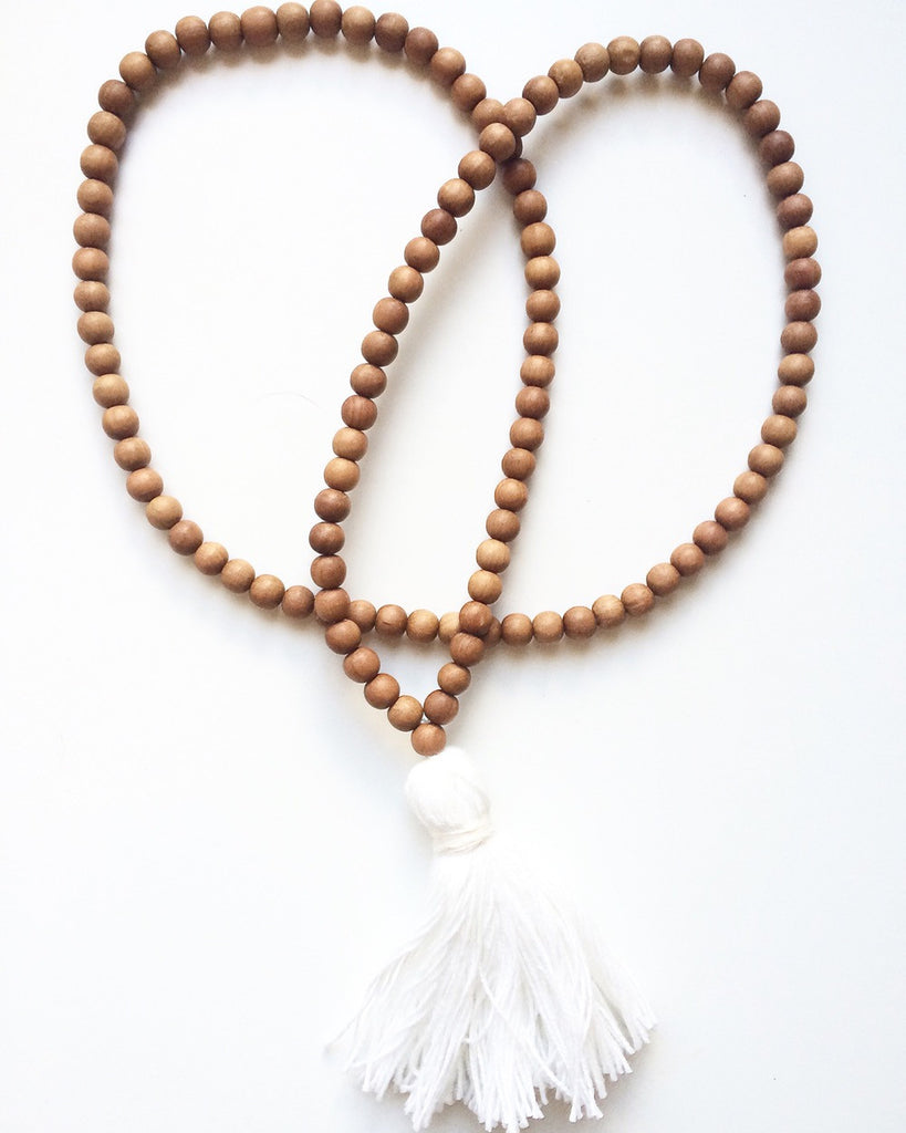 Sandalwood Teething Necklace
