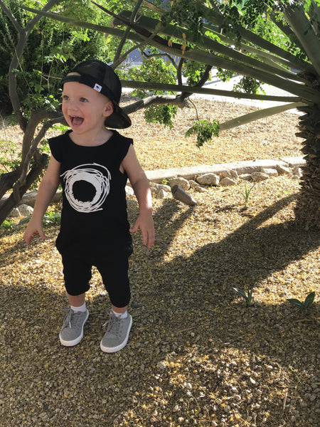 Boys Sleeveless Jumpsuit