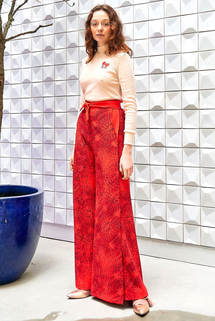 MIMOSA WRAP TROUSERS