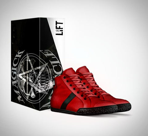 Game On - Magick & Muscle Hand Made Italian Leather Sneaker
