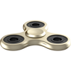 The Anti-Anxiety 360 Fidget Tri Spinner [ALLOY METAL] Relieving ADHD ( Gold )
