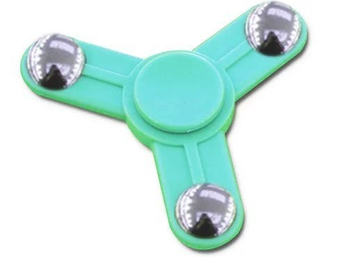 Plastic Tri Spinner Fidget Hand Toy for Relieving Stress Non-3D Printed