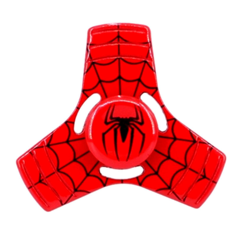 Spiderman 3D Fidget Hand Spinners Shield Toy EDC Focus ADHD Autism For Kids and Adults