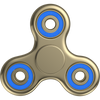 The Anti-Anxiety 360 Spinner Helps Focusing Fidget Toy for Kids & Adults - Gold