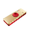Tri Spinner Electronic Cigarette Lighter Triangle Single Finger Decompression Gyro