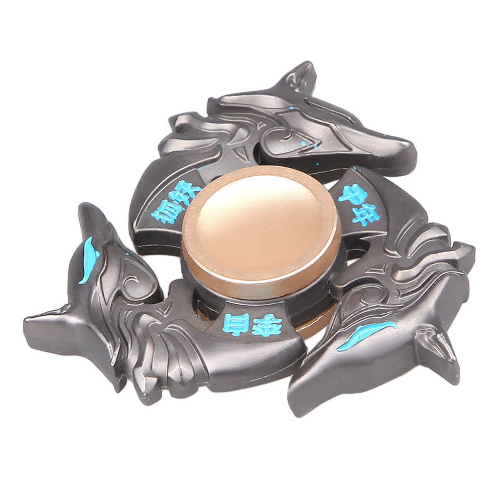2017 Horse Tri-Spinner Fidget Toy  For Autism/ADHD - Heavy Duty Metal