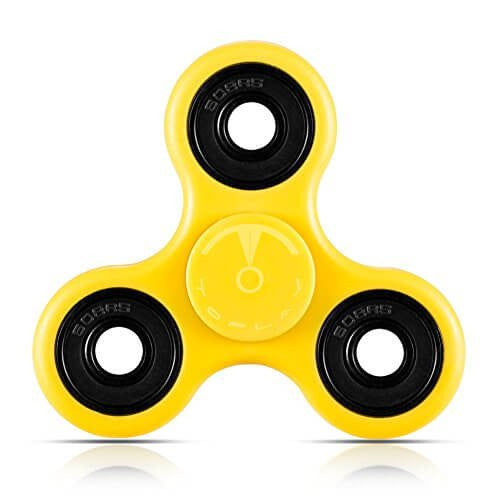 Plastic EDC 3 Sided Fidget Spinners - Extra Durability & High Speed Spins.
