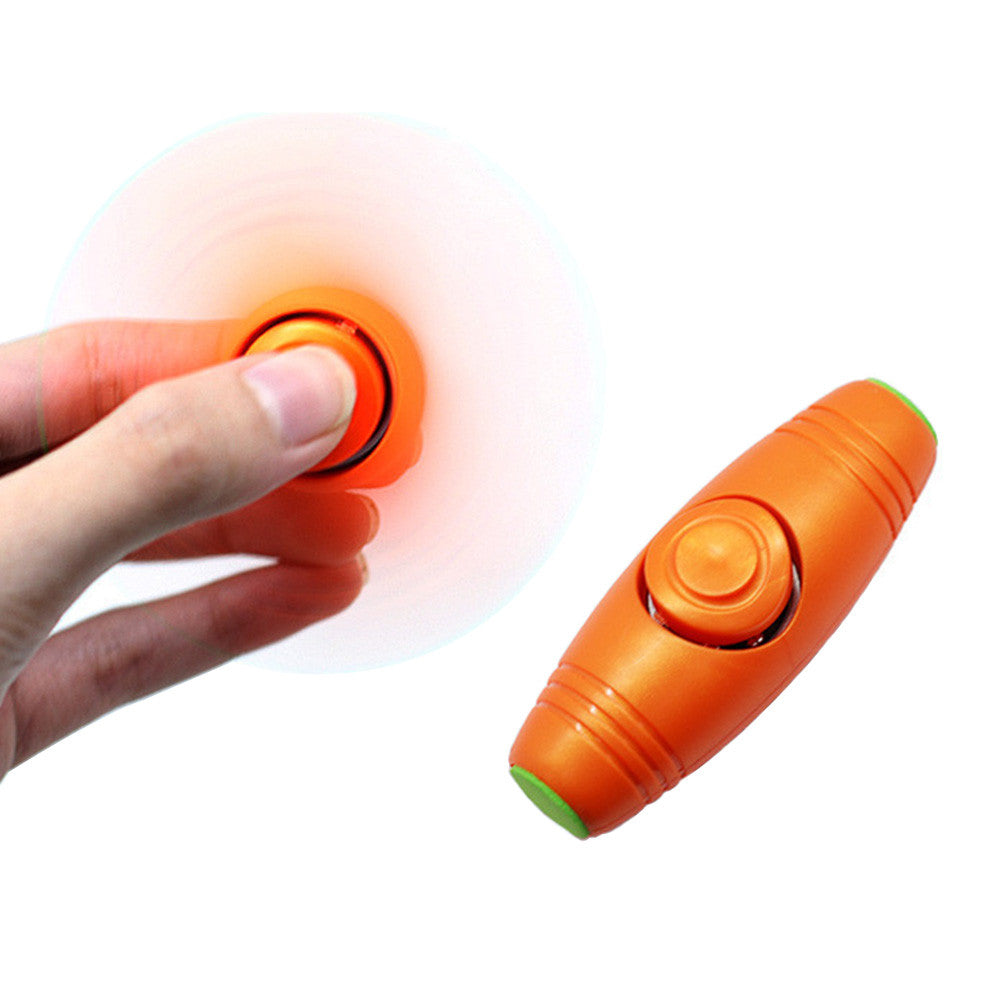 2 in 1 Hand Spinner - Roller Stick Flip Trick Stress Reliever Toy