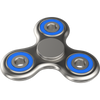 The Anti-Anxiety 360 Spinner Helps Focusing Fidget Toy for Kids & Adults - Chrome Silver