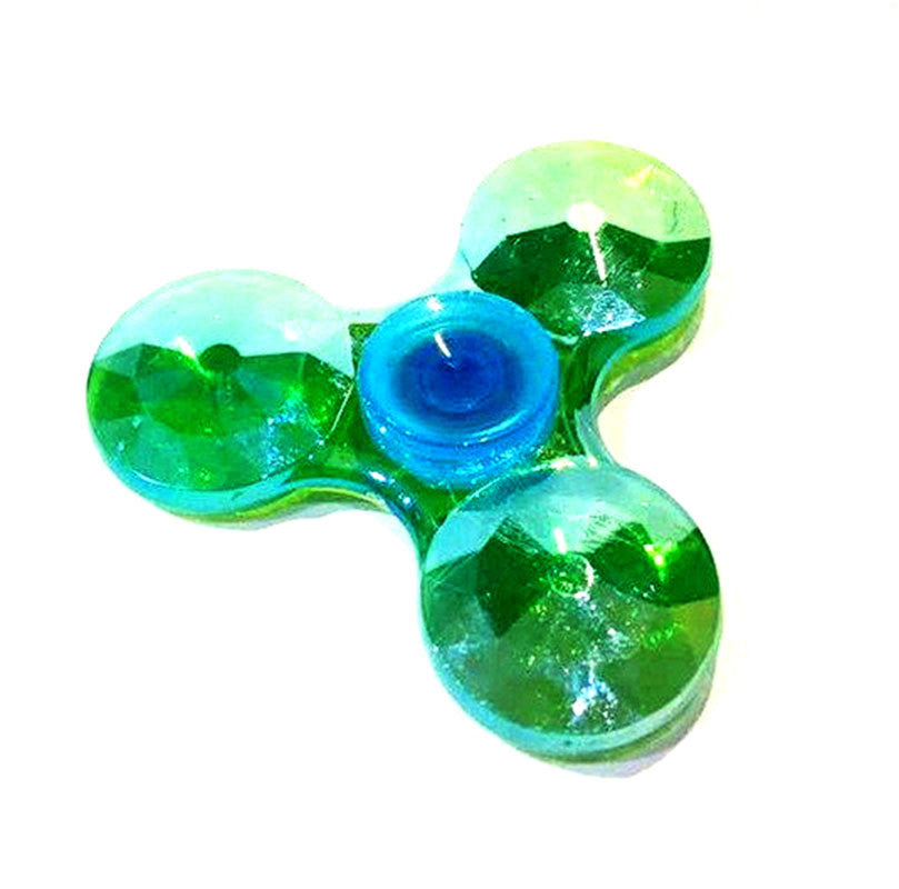 Crystal Fidget Spinners Gyro ABS EDC Hand for Adult Relieve Stress GyroToy