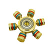 Rainbow Metal Fidget Spinners Brass For Autism Adult Anti Relieve Stress