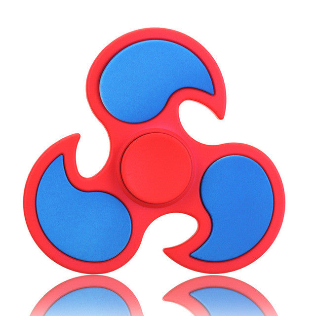 New Matte Tri-Spinner Fidget Toy