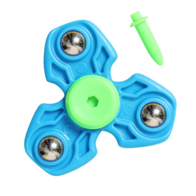 Hand Spinners For Autism EDC and ADHD Fidget Spinners Anti Stress Rotation Time Long Toys