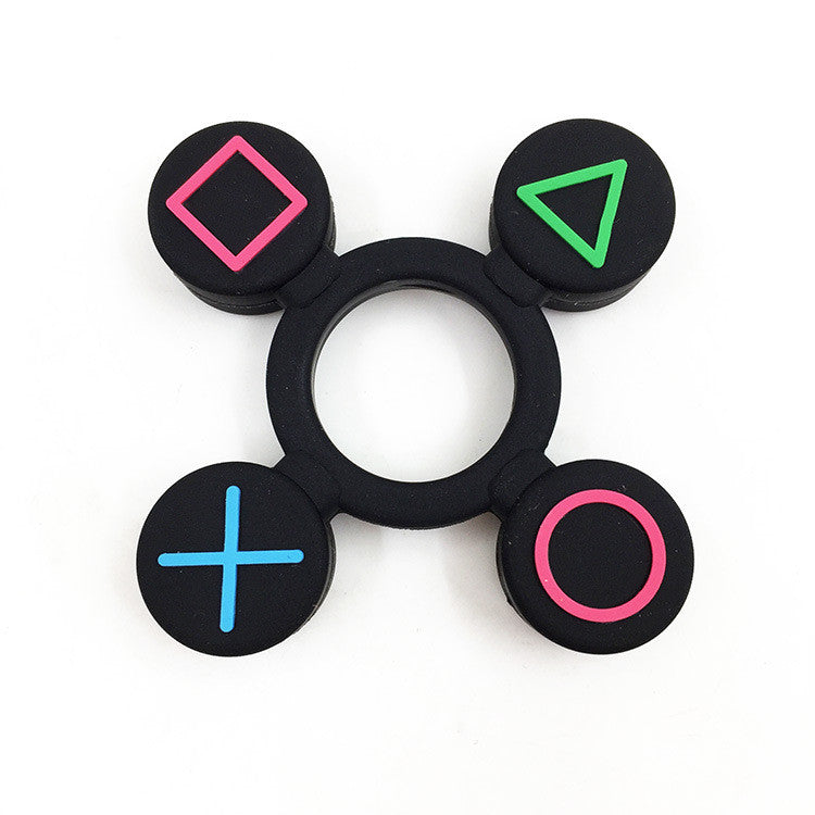 Tri-Spinner Fidget Toy Alloy EDC Hand Spinner Plastic Game For Autism Anti Stress Toys