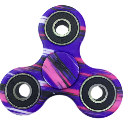 Flashy Sensory Tri Desk Fidget Spinner for Kids and Adults