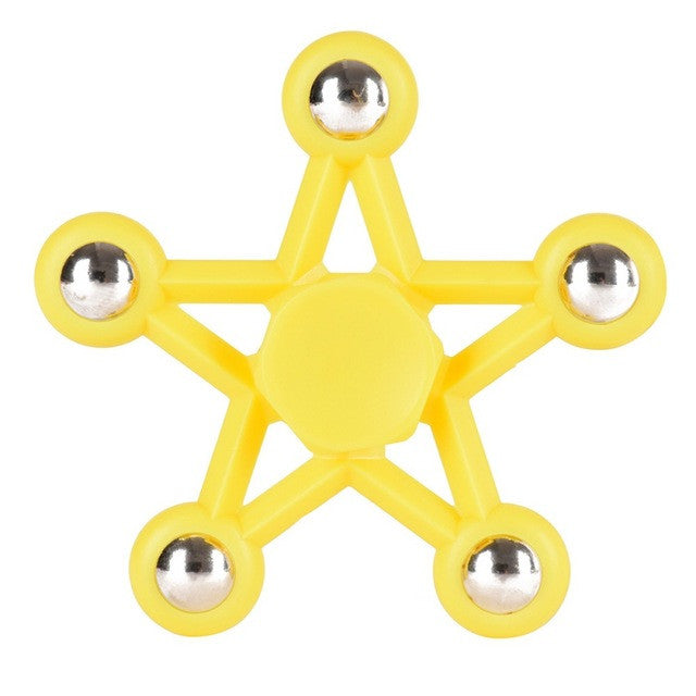 Multicolor Star EDC Hand Spinners Anti Stress Reliever Fidget Toys for Kids and Adults