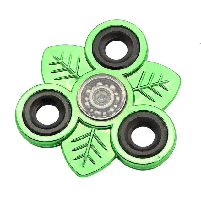Hand EDC Fidget Spinners Plastic Alloy Spinner For Autism and ADHD Anti Stress Relief Toys